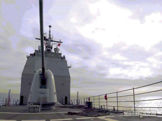Pháo hạm MK45: vũ khí tự động hiện đại nhất trên thế giới