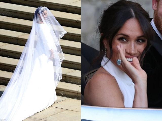 Bí mật váy và nhẫn cưới của tân công nương Anh