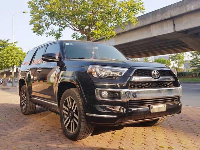 Toyota 4Runner đã qua sử dụng rao bán hơn 2,8 tỷ đồng