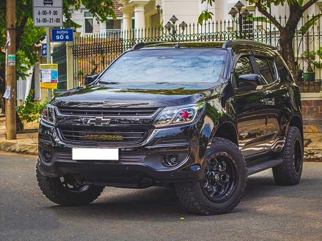 """SUV cỡ trung Chevrolet Trailblazer """"độ"""" đầu tiên tại Việt Nam"""