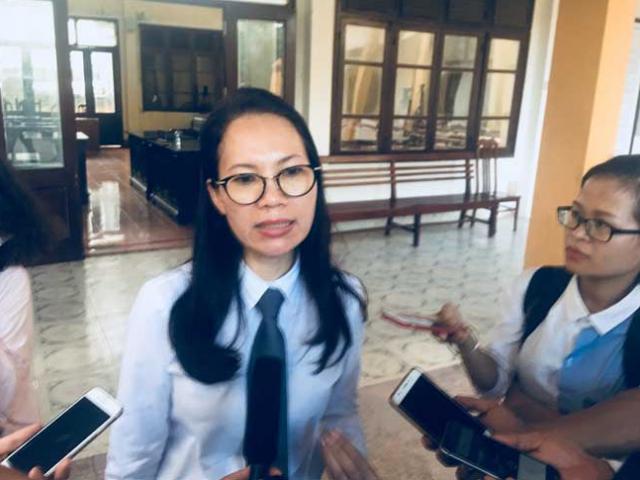 """Nữ luật sư của bác sĩ Lương: """"Trên đổ cho dưới thì dưới đổ cho ai?"""""""