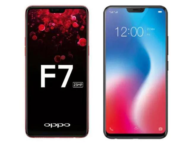 Nên mua Oppo F7 hay Galaxy J7+ trong mức giá 8 triệu đồng?