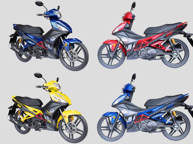 2018 SYM Sport Rider 125i ra màu mới, giá 32 triệu đồng