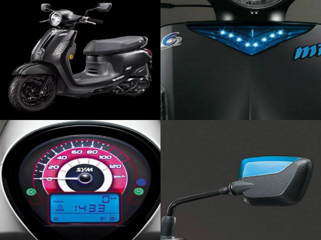 Ngắm bản gốc SYM Abela mới ra mắt, đấu Honda Vision