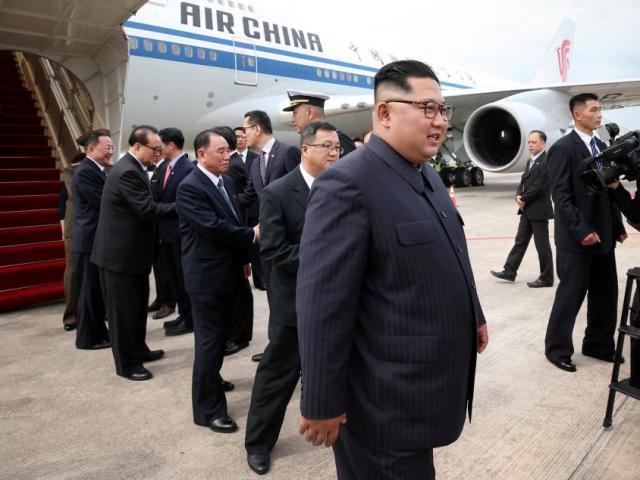 """Kim Jong-un đưa 2 máy bay """"hoả mù"""" đến hội nghị thượng đỉnh Mỹ-Triều"""