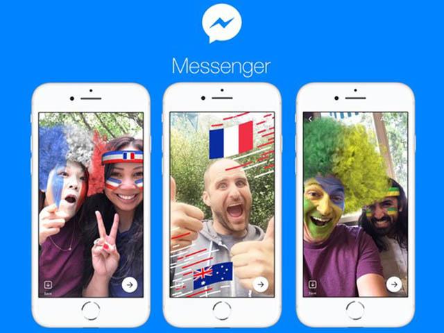 Facebook Messenger cập nhật thêm game cho mùa World Cup