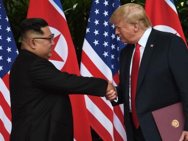 """Toàn văn thỏa thuận """"thế kỷ"""" Kim Jong-un ký với Trump ở Singapore"""