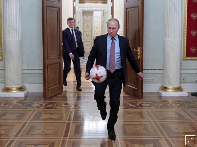 Tầm nhìn xa của Putin khi quyết đăng cai World Cup 2018