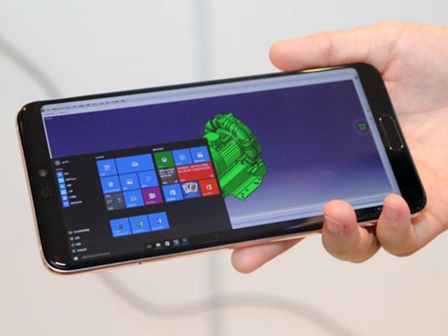 Huawei Cloud cho phép chạy Windows 10 trên điện thoại Huawei
