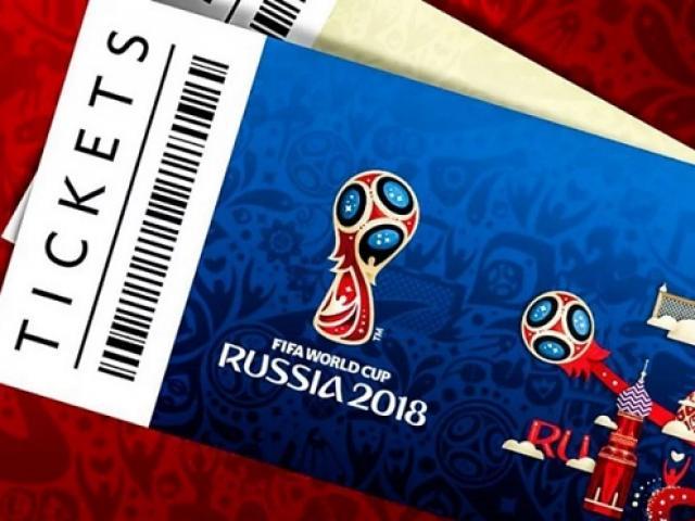 Hàng ngàn CĐV Trung Quốc mua phải vé giả ở World Cup 2018