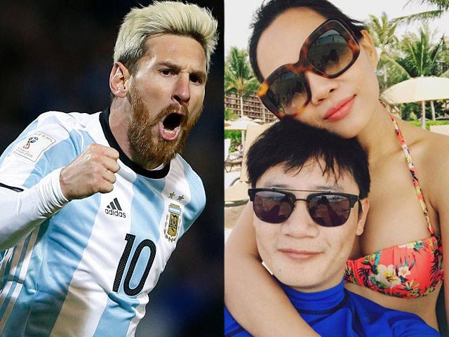 """Vợ Hoàng Bách """"sống chung với lũ"""" khi chồng ôm tivi suốt World Cup"""