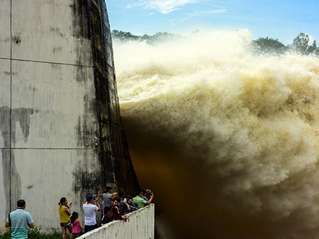 Nóng: Lũ về dồn dập, thủy điện Lai Châu dự kiến mở 7 cửa xả