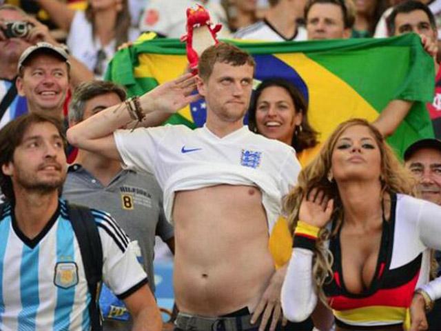 Những hình ảnh hài hước nhất tại World Cup 2018