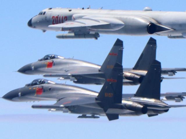 """Thông điệp """"lạnh"""" của TQ khi đưa chiến đấu cơ vượt ranh giới ở eo biển Đài Loan"""