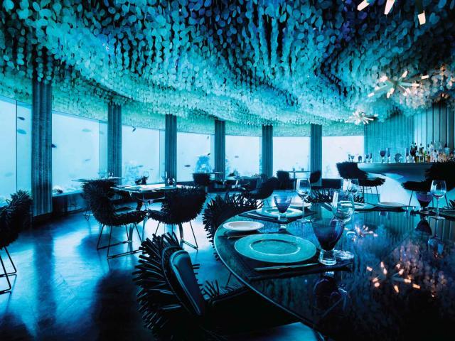 """Nhà hàng """"dẫn xuống lòng biển"""" có một không hai trên thế giới"""