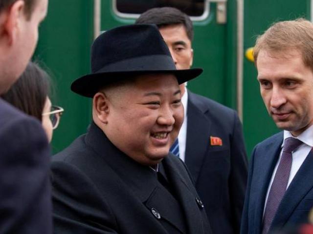 Kim Jong Un nói gì khi vừa đặt chân tới Nga?