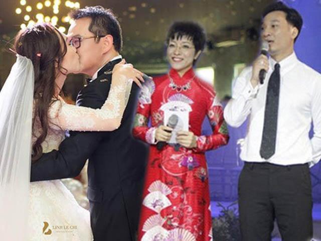 """Thành Trung, Thảo Vân nói gì khi bị chê """"thớ lợ"""" trong đám cưới NSND Trung Hiếu?"""