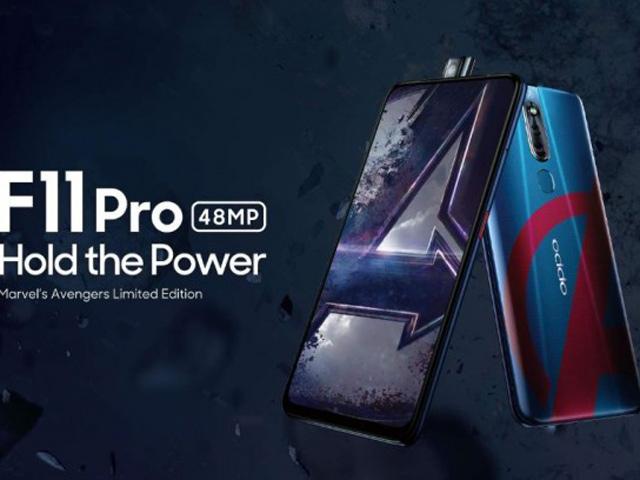 """Oppo F11 Pro Avengers đã được """"lên kệ"""""""