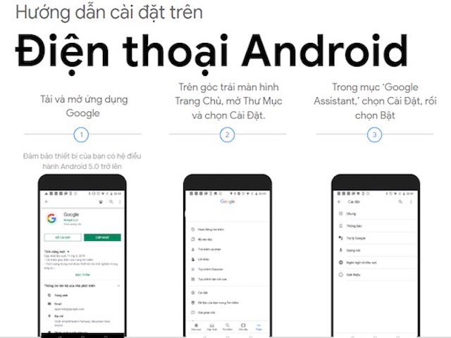 Google hướng dẫn chi tiết cách cài đặt và sử dụng Google Assistant tiếng Việt