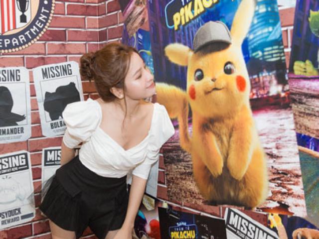 """Dàn sao Việt """"ngất xỉu"""" với độ đáng yêu của chú chuột điện Pikachu"""
