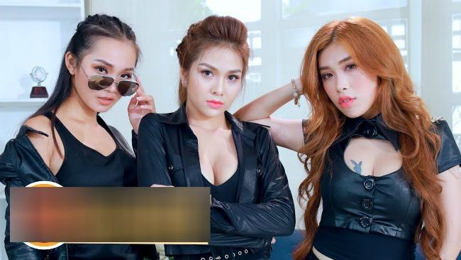 tran ngap canh nong, hot girl khoe than trong web drama viet hinh anh 6