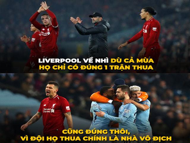 """Liverpool cay đắng khi là """"kẻ về nhì vĩ đại"""""""