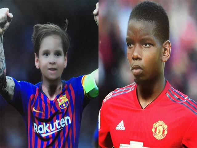 """Lộ diện hình ảnh """"trẻ trâu"""" của các ngôi sao bóng đá thế giới"""
