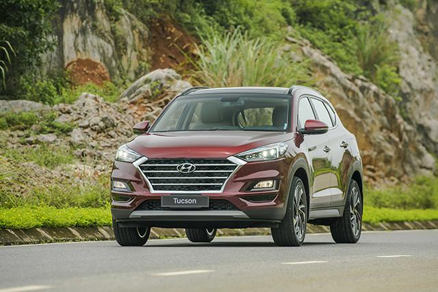 Giá lăn bánh SUV 5 chỗ ngồi Hyundai Tucson 2019