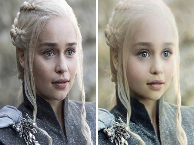 """Khi các nhân vật trong phim Game of Thrones hóa thành """"trẻ con"""""""