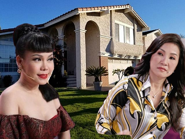 Đọ biệt thự sang chảnh bên Mỹ của 2 nữ danh hài nổi tiếng miền Nam