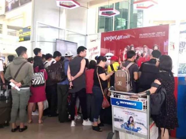 Cục Hàng không cử cán bộ vào TPHCM cùng Vietjet giải quyết tình trạng hoãn, hủy chuyến bay