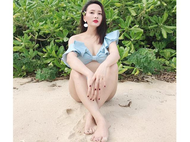 Bảo Thanh nói chỉ dám mặc sexy ở nhà với chồng nhưng thực tế ngược lại
