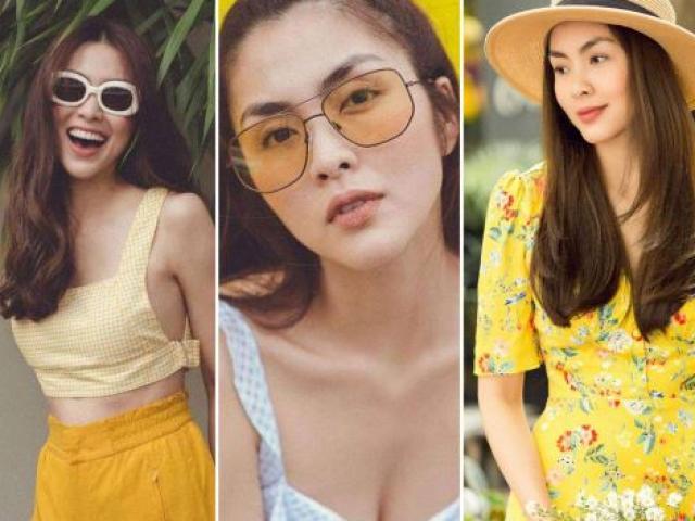 Ngày hè nóng nực muốn mặc đẹp hãy nhìn Tăng Thanh Hà