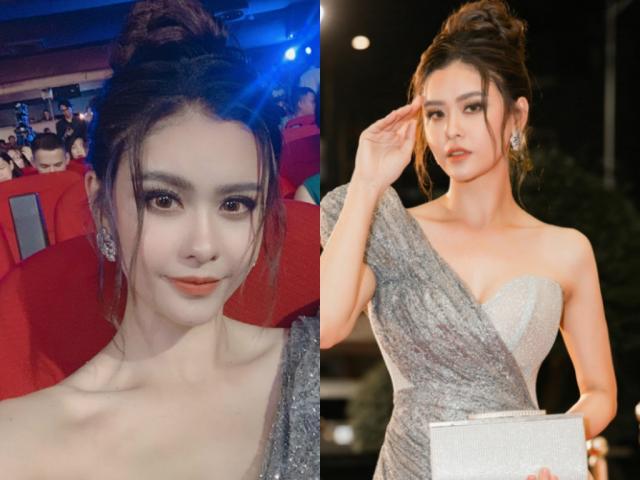 Trương Quỳnh Anh mặc váy xẻ cao, dự định thi Hoa hậu?