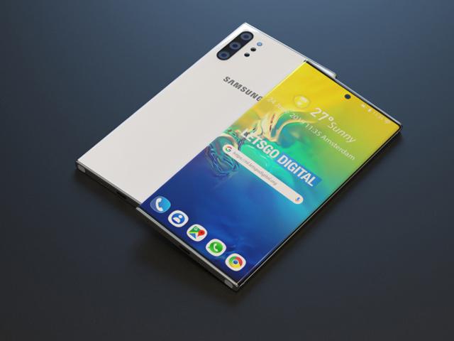 Lại lóa mắt với concept mới của Galaxy Note 10