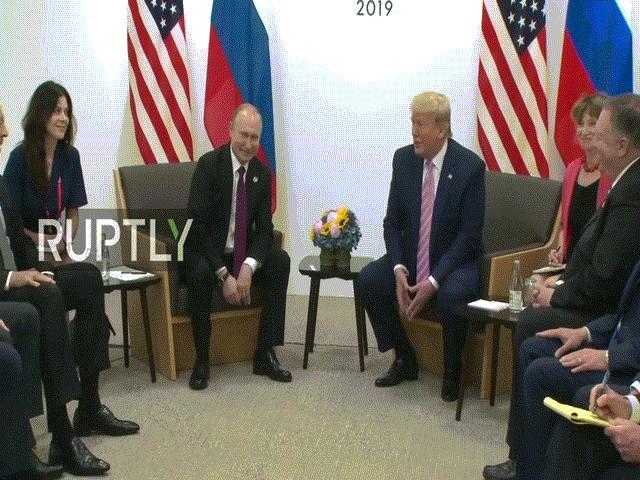 G20: Mặt đối mặt, Trump bảo Putin đừng can thiệp bầu cử Mỹ