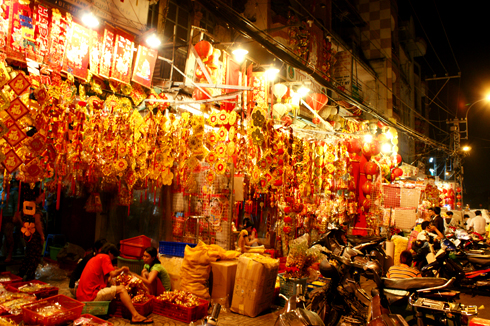 Dạo hàng ẩm thực Chợ Lớn 4