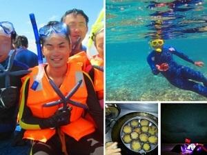 Hình ảnh du khách Trung Quốc tàn sát sinh vật biển ở Hoàng Sa (Nguồn: SCMP)