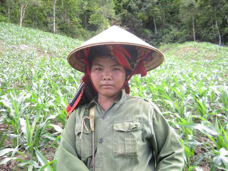 Được Hội giúp vay vốn, hướng dẫn sử dụng vốn, gia đình chị Lò Thị Thinh đã thoát nghèo.