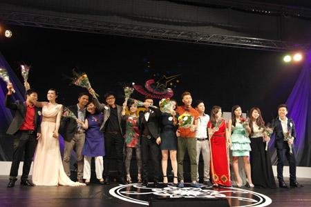 ác thí sinh trong vòng chung kết Sao Mai 2013 tại châu Âu.