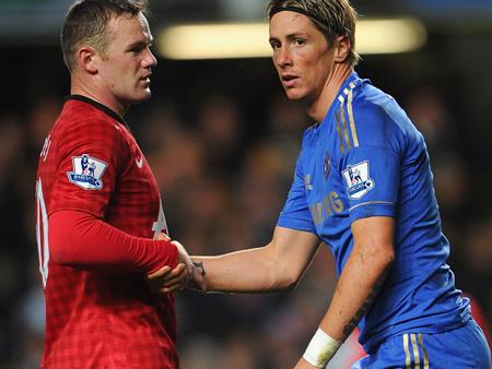 Rooney và Torres có thể đổi chỗ cho nhau