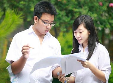 Thí sinh dự thi Đại học 2013