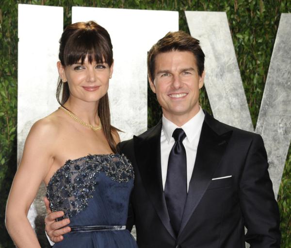 Tom Cruise và Katie Holmes ly hôn vào tháng 7/2012 sau 6 năm chung sống.