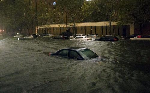 Rất nhiều xe bị ngập nước do bão Sandy hồi cuối năm ngoái tại Mỹ, đã được phục chế và bán trôi nổi trên thị trường - Ảnh: The Atlantic.
