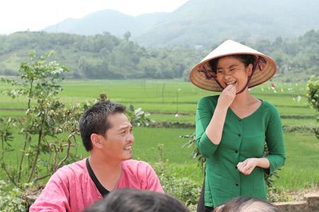 """NSƯT Kim Oanh trong phim """"Làng ma 10 năm sau""""."""
