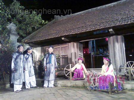 HVí phường vải - làn điệu đặc sắc nhất của dân ca ví giặm Nghệ - Tĩnh.