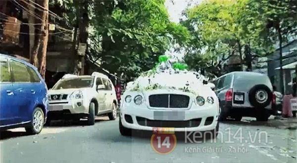Lộ clip dàn xe sang rước dâu trong lễ cưới hot girl Huyền Baby 4