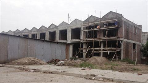 Sau 3 năm trúng thầu, dự án chợ Kim Nỗ vẫn trong tình trạng dở dang