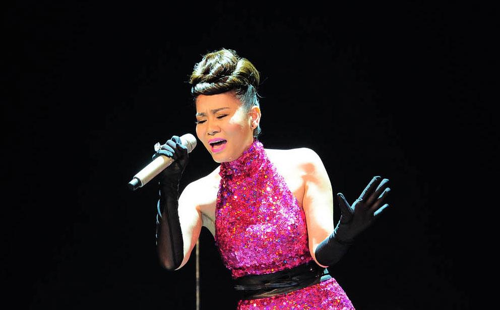 Ca sĩ Thu Minh với ca khúc