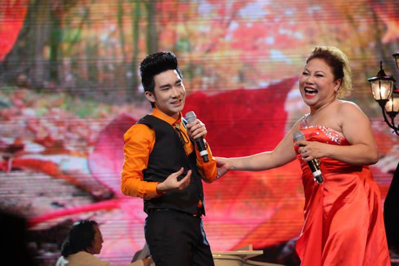 Ca sĩ Quang Hà và Siu Black